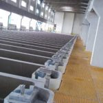 installed polymer concrete cells